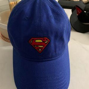 Forever 21 blue Superman hat one size NWT
